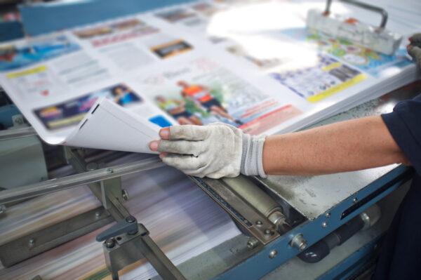 Cięcie i składanie broszur